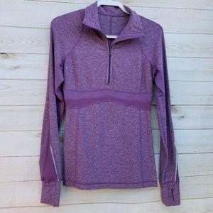 Lululemon 1/4 zip 8 pullover run/cycle jacket